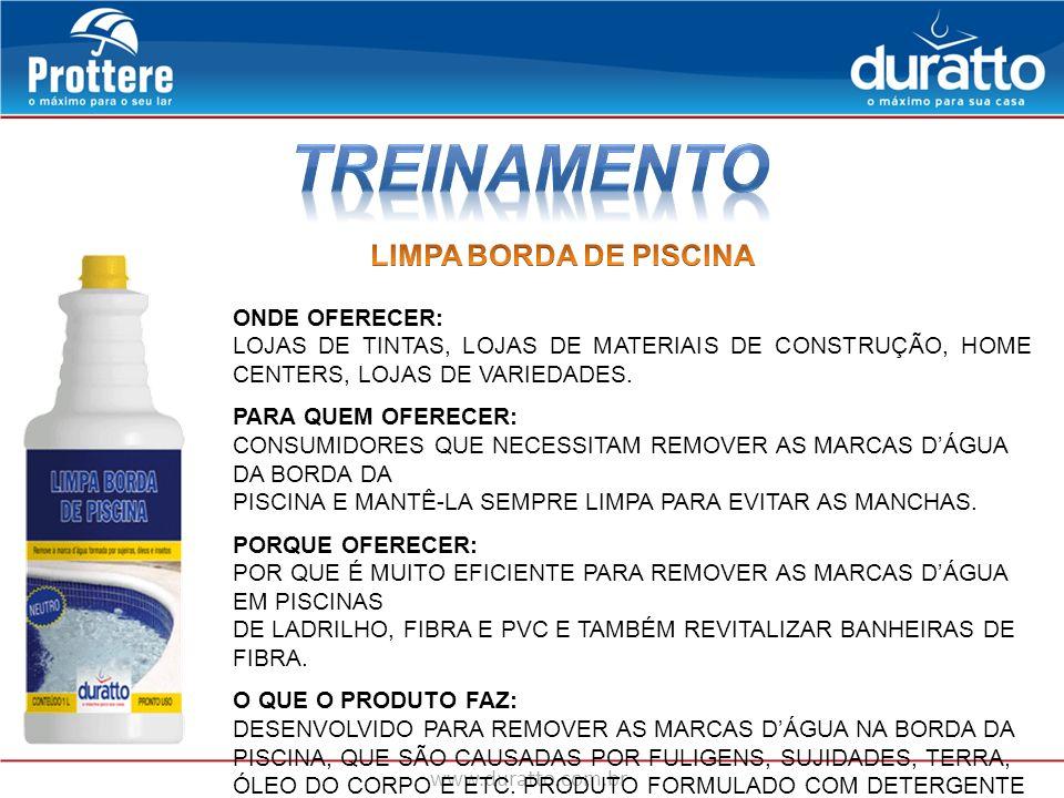 TREINAMENTO LIMPA BORDA DE PISCINA ONDE OFERECER: