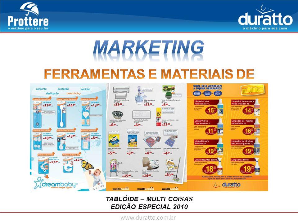 FERRAMENTAS E MATERIAIS DE MARKETING TABLÓIDE – MULTI COISAS