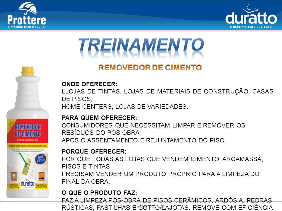 TREINAMENTO REMOVEDOR DE CIMENTO ONDE OFERECER: