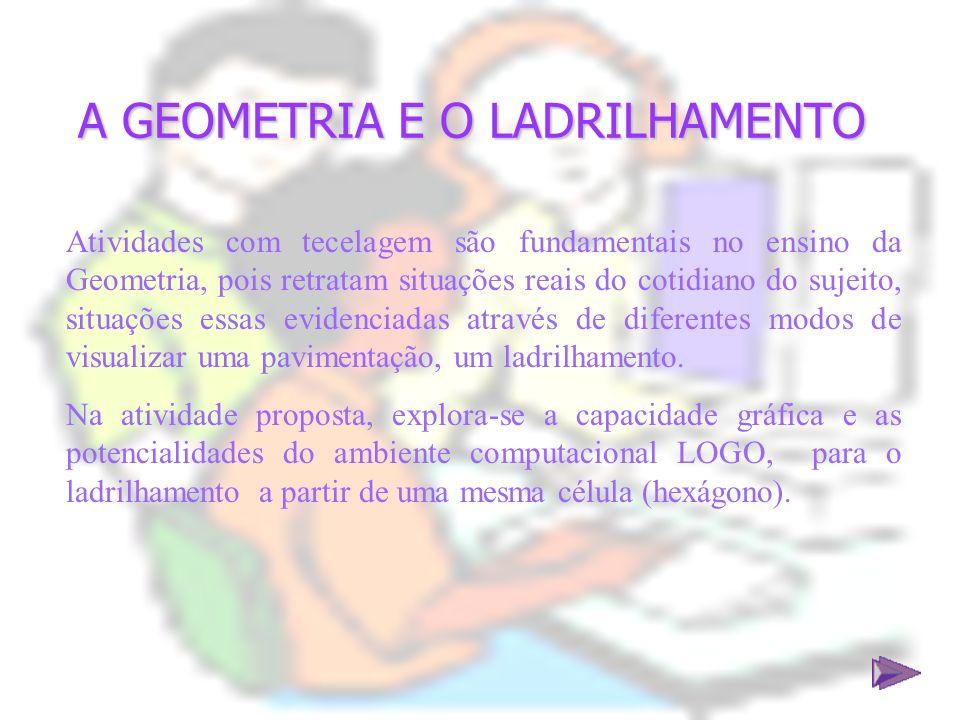 A GEOMETRIA E O LADRILHAMENTO