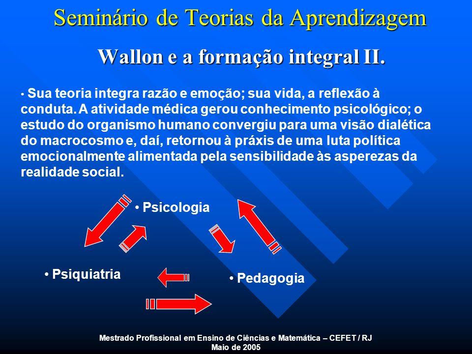 Seminário de Teorias da Aprendizagem
