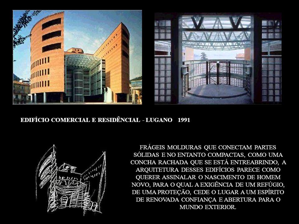 EDIFÍCIO COMERCIAL E RESIDÊNCIAL - LUGANO 1991