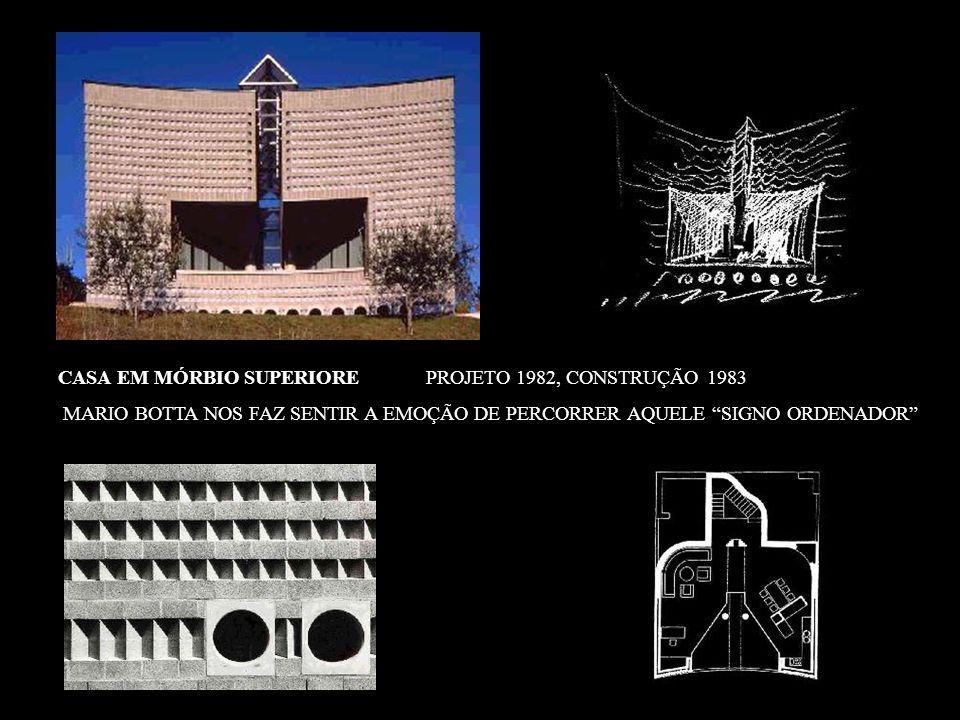 CASA EM MÓRBIO SUPERIORE PROJETO 1982, CONSTRUÇÃO 1983