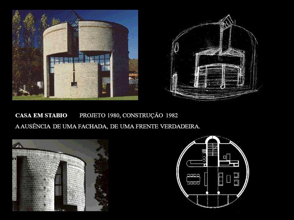 CASA EM STABIO PROJETO 1980, CONSTRUÇÃO 1982