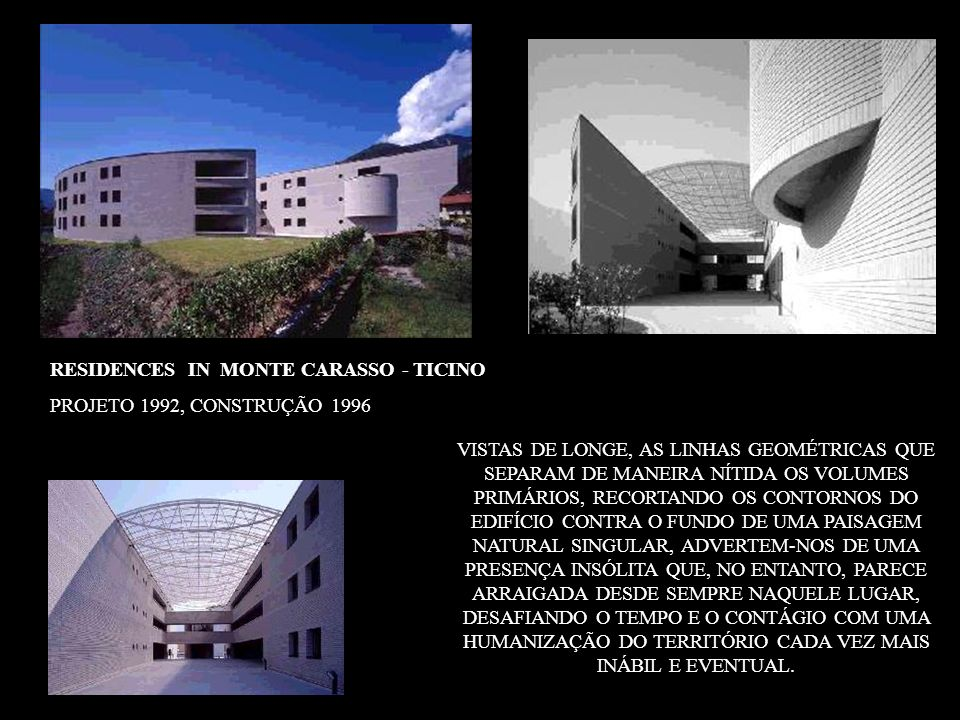 RESIDENCES IN MONTE CARASSO - TICINO