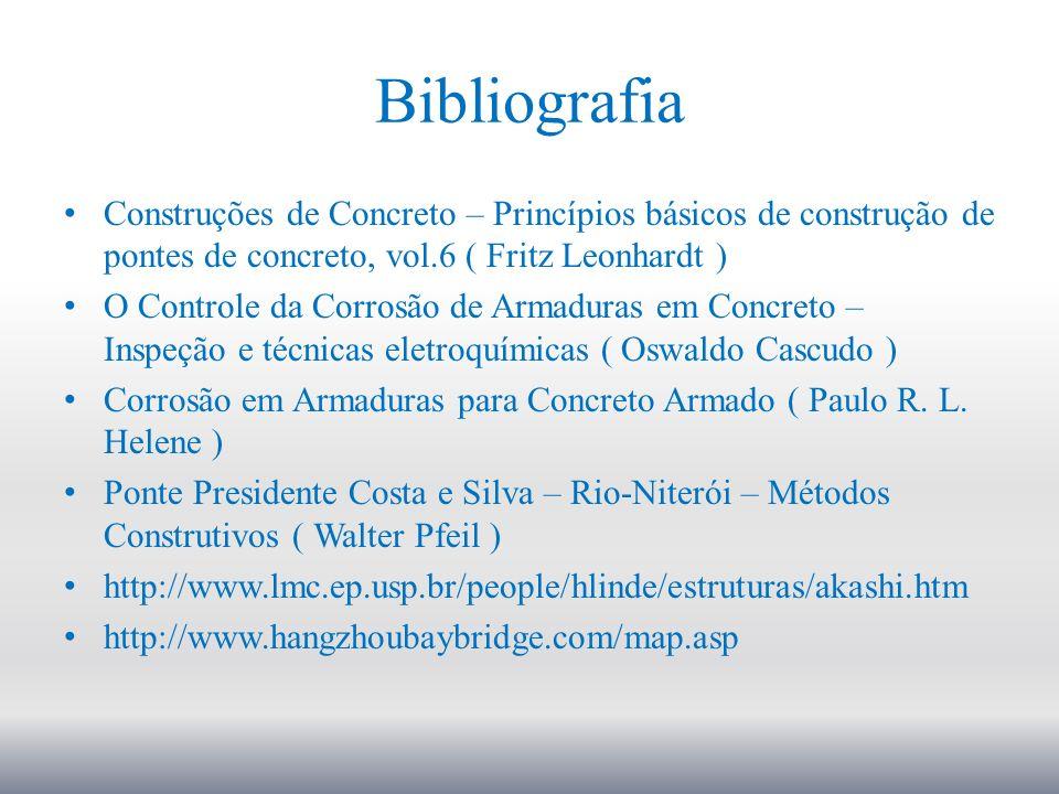 Bibliografia Construções de Concreto – Princípios básicos de construção de pontes de concreto, vol.6 ( Fritz Leonhardt )