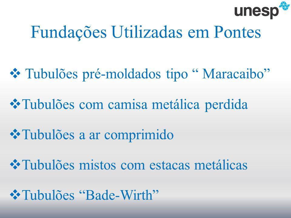 Fundações Utilizadas em Pontes