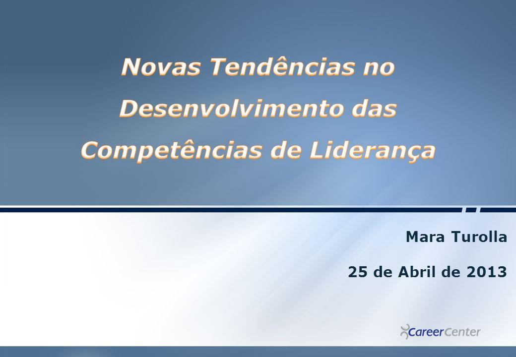Novas Tendências no Desenvolvimento das Competências de Liderança