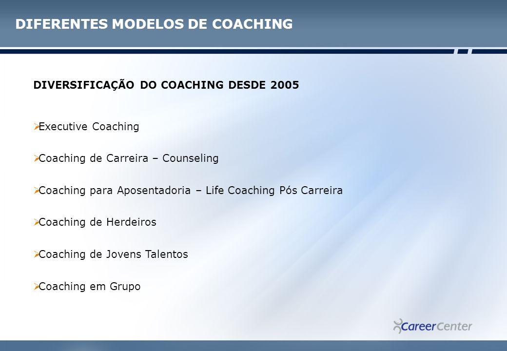 DIFERENTES MODELOS DE COACHING