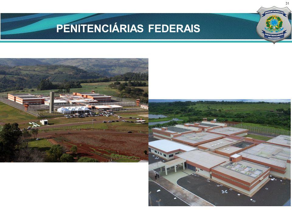 PENITENCIÁRIAS FEDERAIS