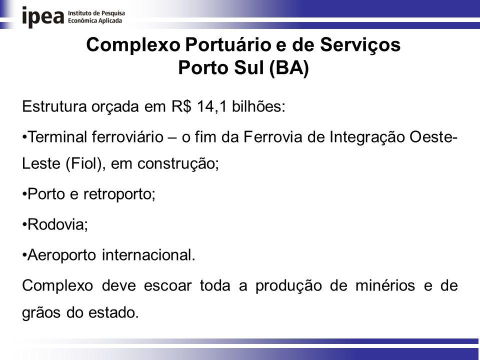 Complexo Portuário e de Serviços Porto Sul (BA)