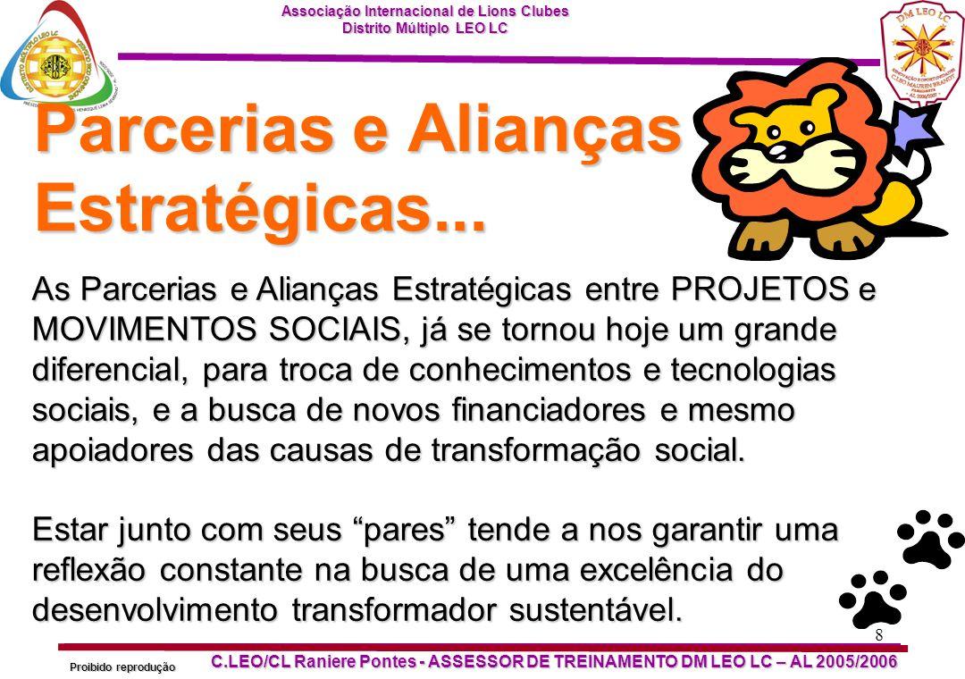 Parcerias e Alianças Estratégicas...