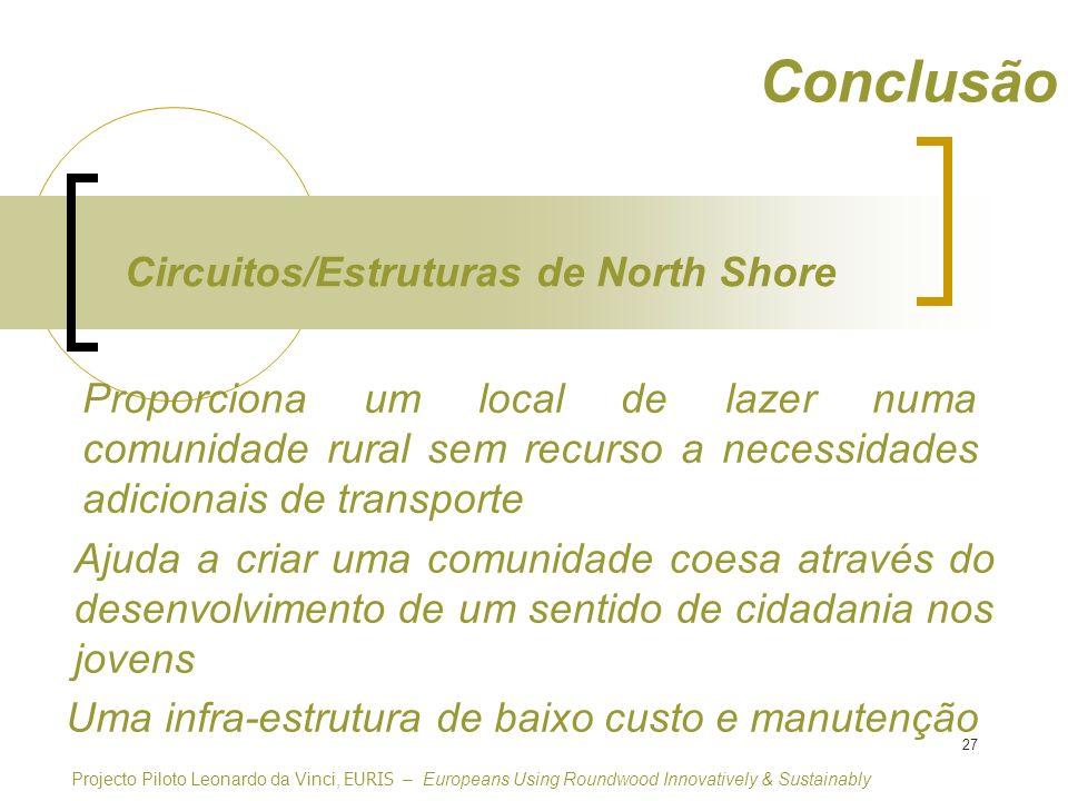 Conclusão Circuitos/Estruturas de North Shore