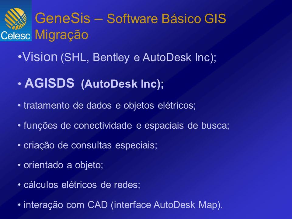 GeneSis – Software Básico GIS Migração