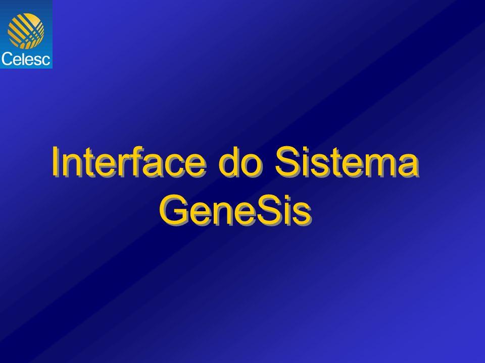 Interface do Sistema GeneSis