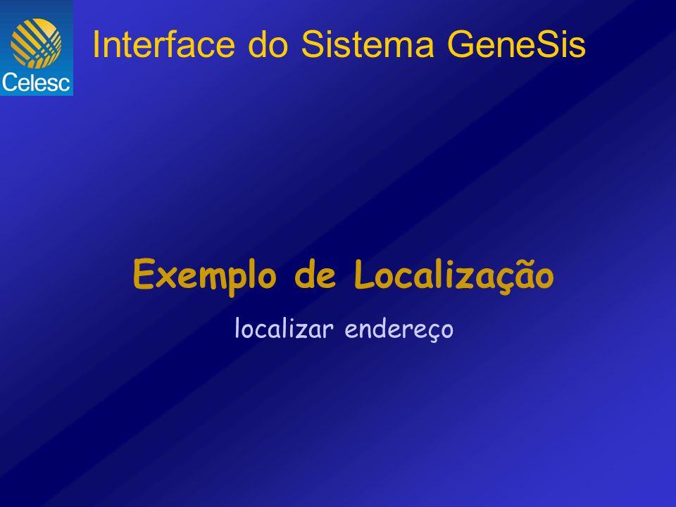Exemplo de Localização