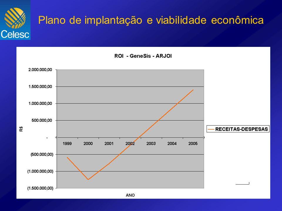 Plano de implantação e viabilidade econômica