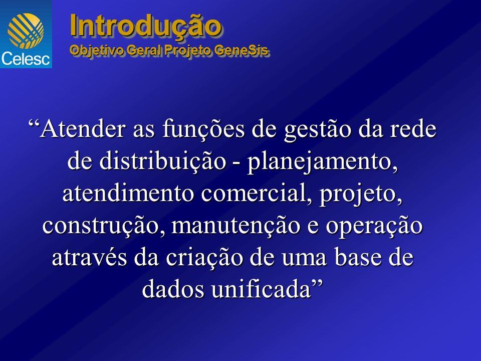 Introdução Objetivo Geral Projeto GeneSis.