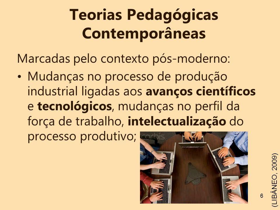 Teorias Pedagógicas Contemporâneas