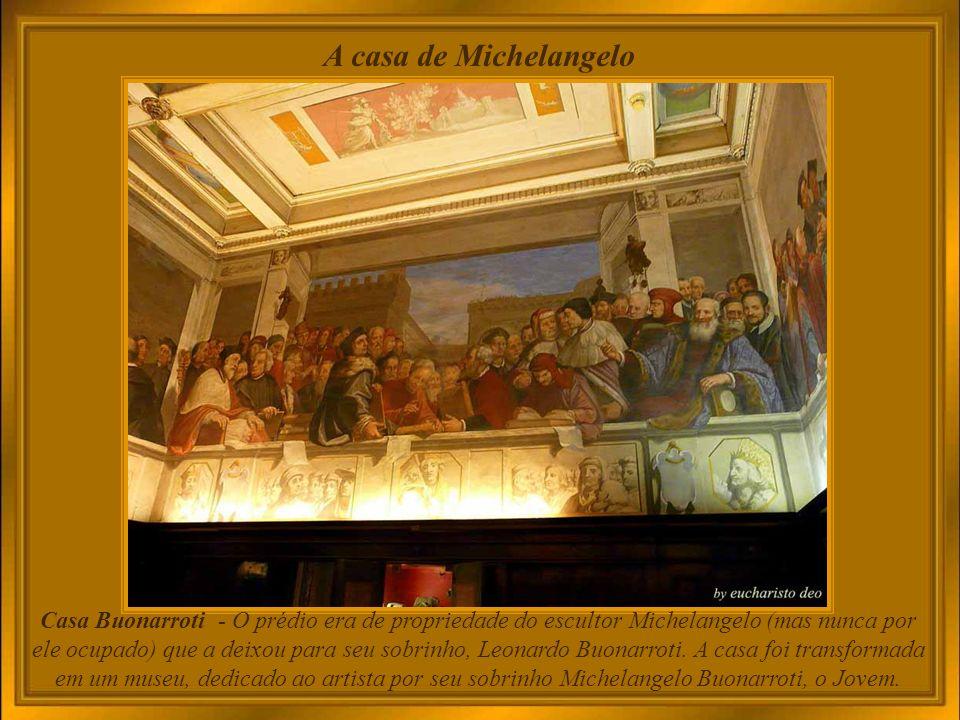 A casa de Michelangelo