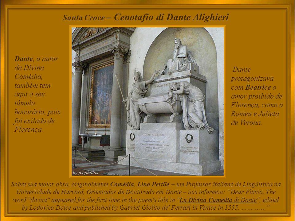 Santa Croce – Cenotafio di Dante Alighieri