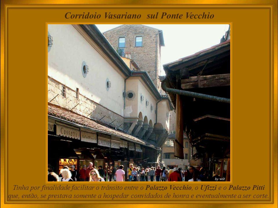Corridoio Vasariano sul Ponte Vecchio