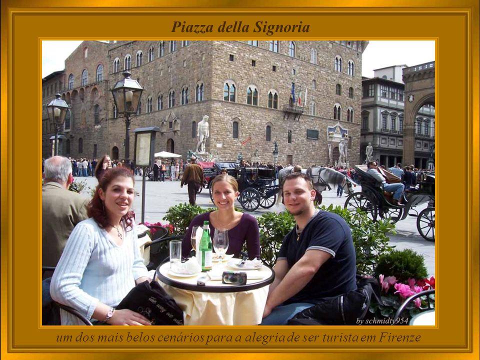 um dos mais belos cenários para a alegria de ser turista em Firenze