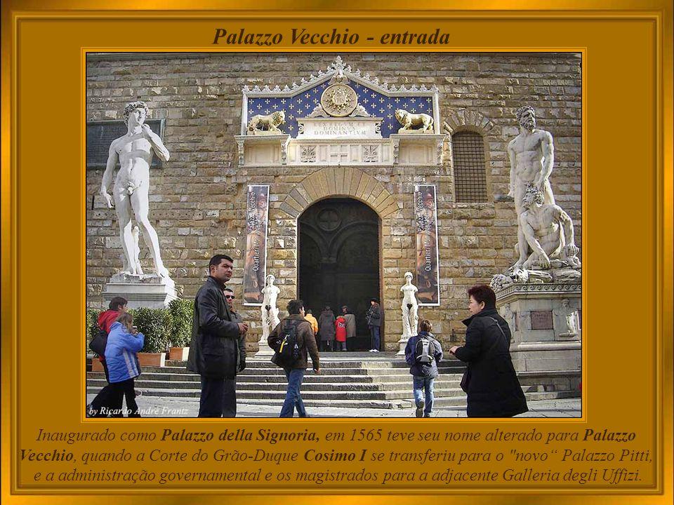 Palazzo Vecchio - entrada
