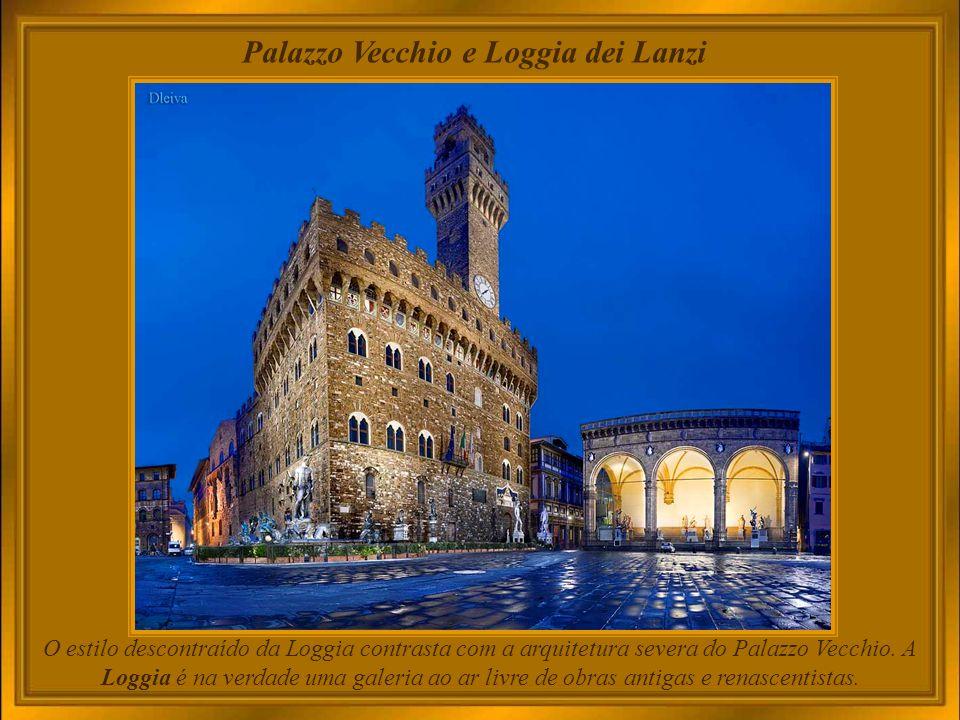 Palazzo Vecchio e Loggia dei Lanzi