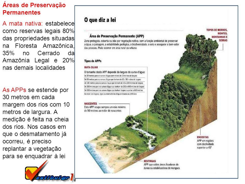 Áreas de Preservação Permanentes