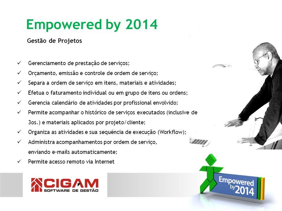 Empowered by 2014 Gestão de Projetos