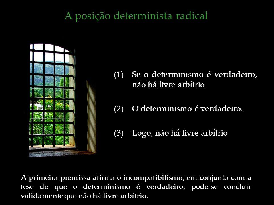 A posição determinista radical