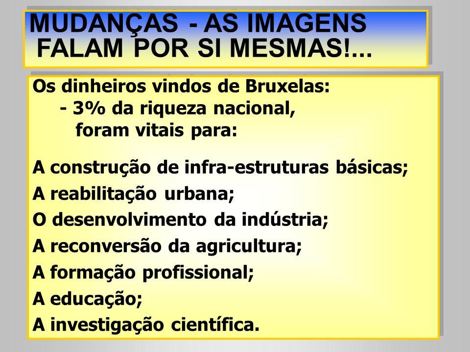MUDANÇAS - AS IMAGENS FALAM POR SI MESMAS!...