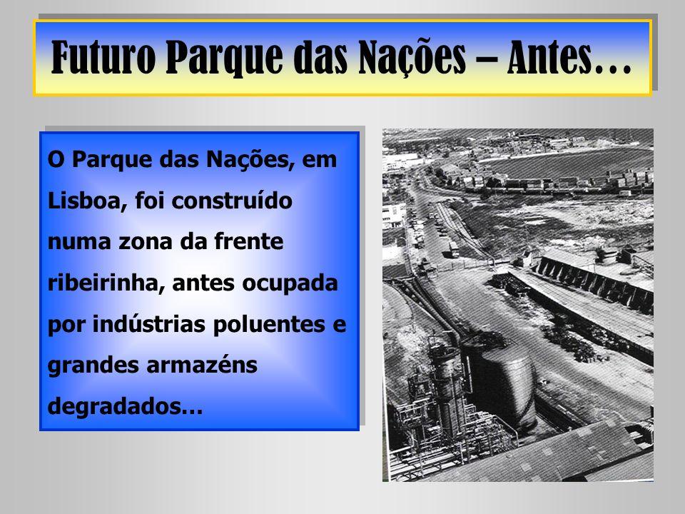 Futuro Parque das Nações – Antes…