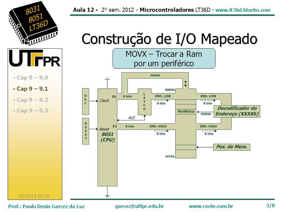 Construção de I/O Mapeado