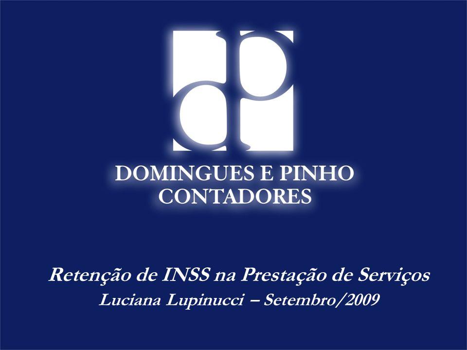 Retenção de INSS na Prestação de Serviços