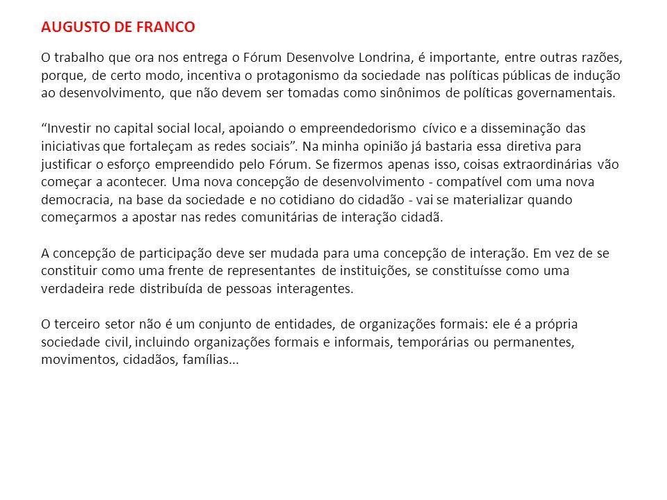 AUGUSTO DE FRANCO