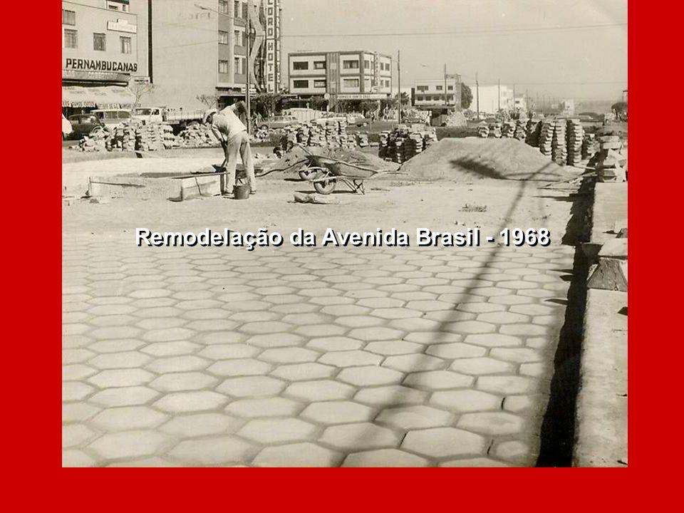 Remodelação da Avenida Brasil - 1968