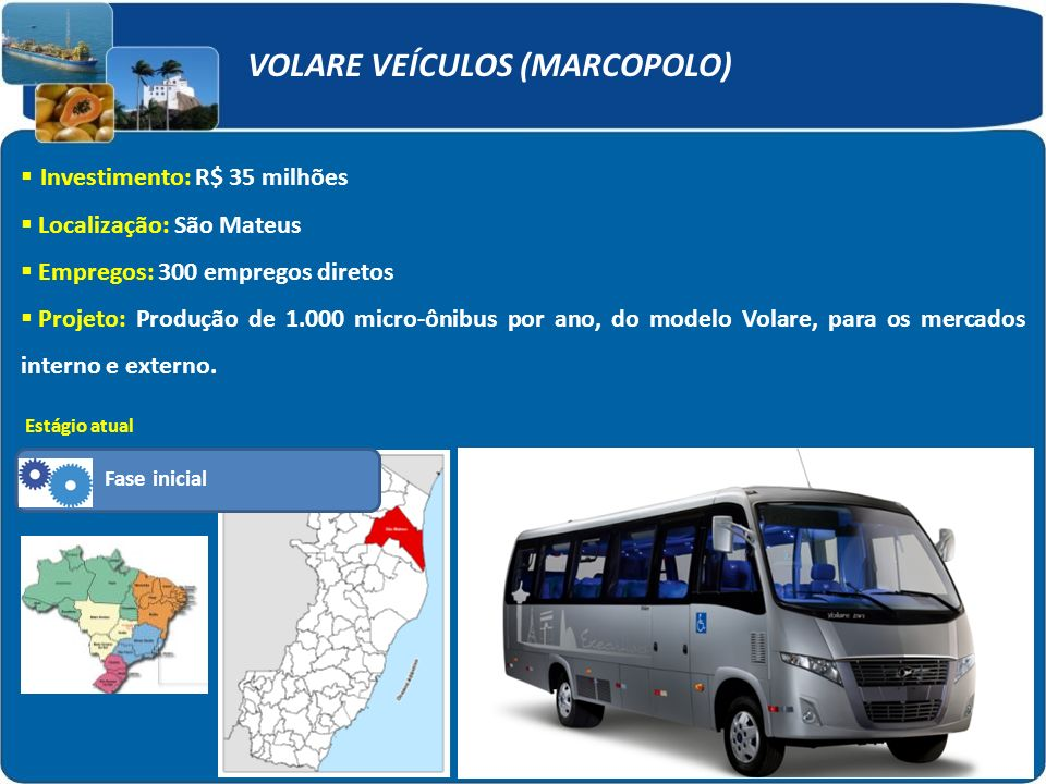 VOLARE VEÍCULOS (MARCOPOLO)