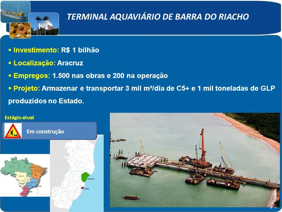 TERMINAL AQUAVIÁRIO DE BARRA DO RIACHO