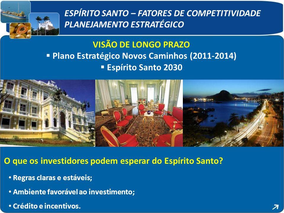 Plano Estratégico Novos Caminhos (2011-2014)