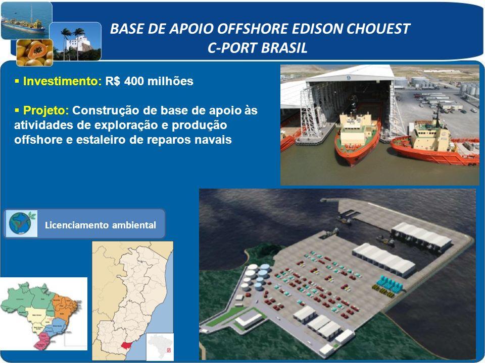 BASE DE APOIO OFFSHORE EDISON CHOUEST C-PORT BRASIL