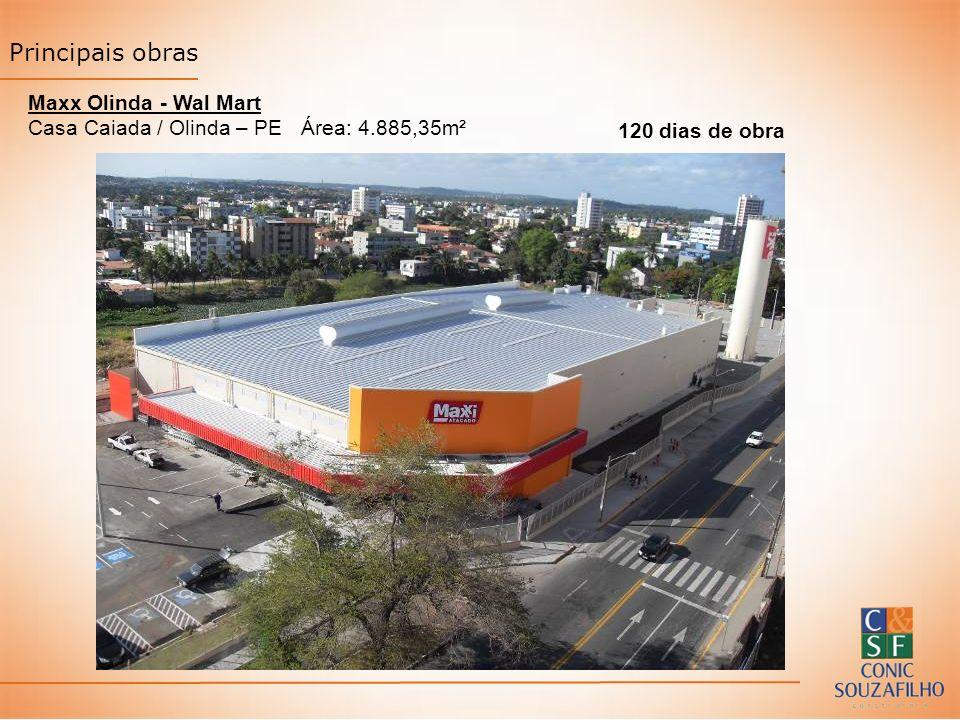 Principais obras Maxx Olinda - Wal Mart