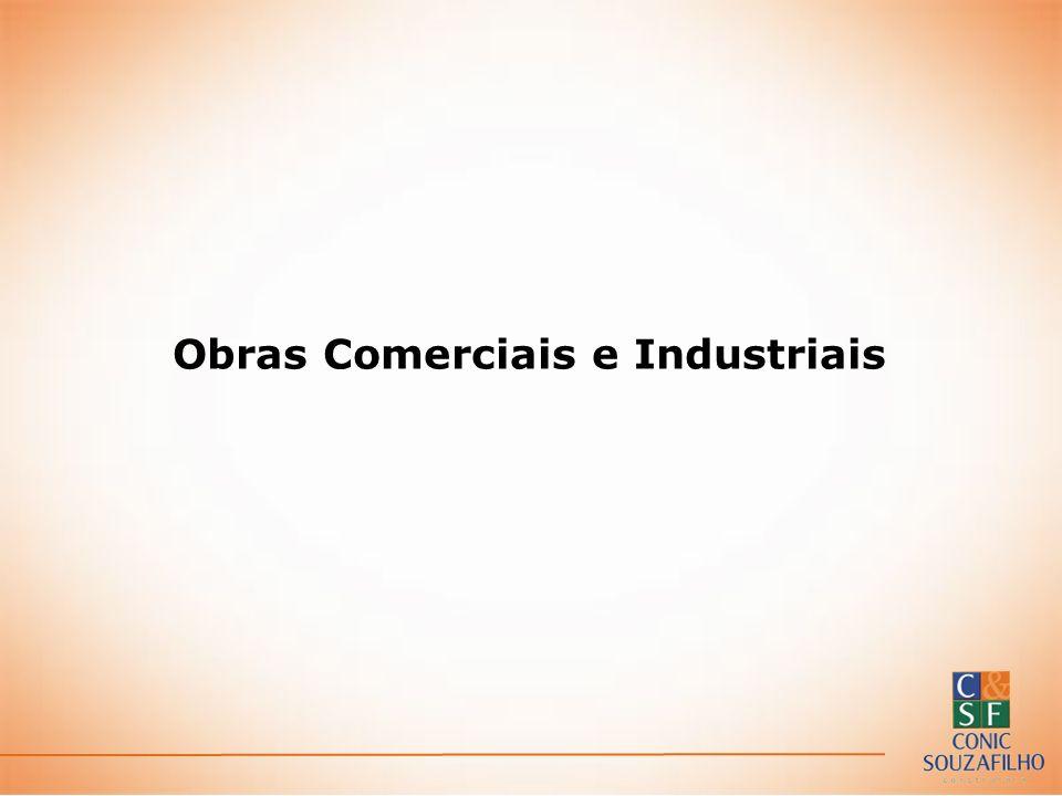 Obras Comerciais e Industriais