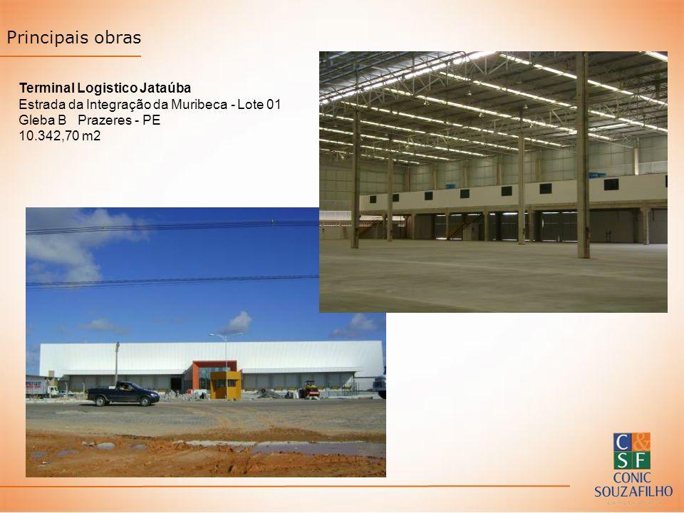 Principais obras Terminal Logistico Jataúba