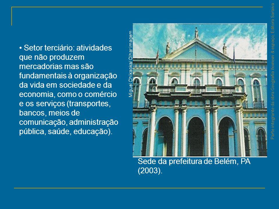 Sede da prefeitura de Belém, PA (2003).