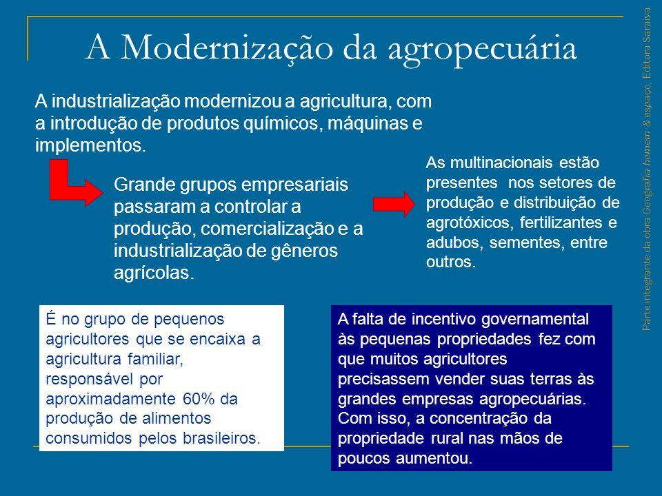A Modernização da agropecuária