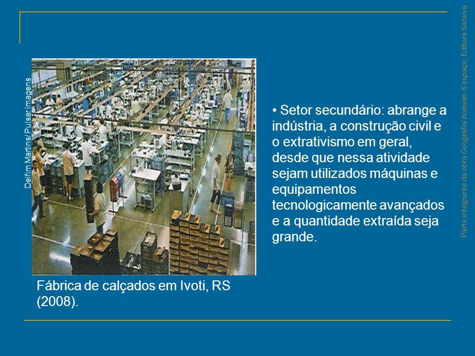 Fábrica de calçados em Ivoti, RS (2008).