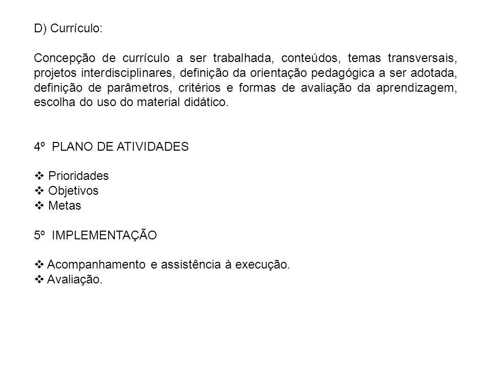 D) Currículo: