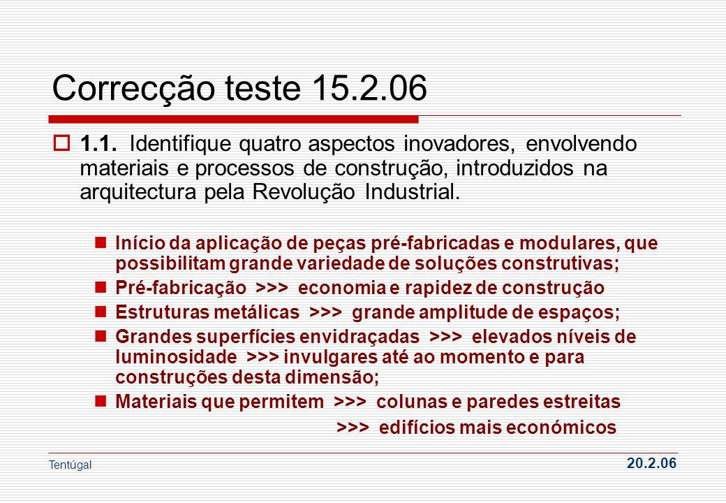 Correcção teste 15.2.06